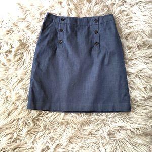 Ann Taylor Loft Sailor Skirt